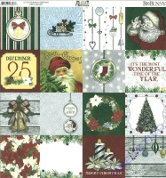 Bo Bunny Scrapbooking-Papier Its the season - Greetings