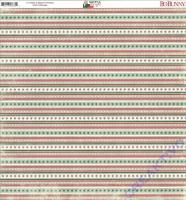 Bo Bunny Scrapbooking-Papier Merry & Bright - Twinkle