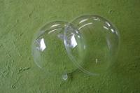 Plastik Kugel Acrylkugel zweiteilig 16cm