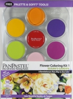 PanPastel Flower Coloring Kit 1 - Susans Garden