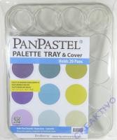 Pan Pastel Palette für 20 Näpfe + Deckel