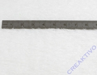 Vivelle Kurz- Gras Bogen 100x130cm weiß