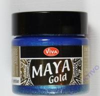 Maya Gold eisblau