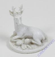Polyresin-Miniatur Hirsch
