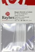 Rayher Magic-Stretch 0,5mm kristall 2m