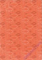Designkarton Jesus Orange DinA4 Motiv 3