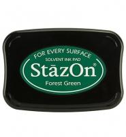 StazOn Stempelkissen Forest green