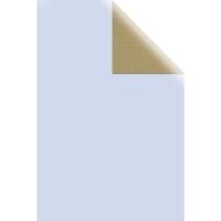 Geschenkpapier Rolle Kraft lagune