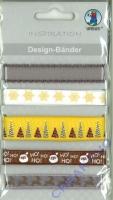 Design-Bänder Weihnachten klassik (Restbestand)