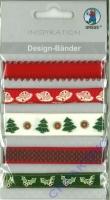 Design-Bänder Weihnachten Nostalgie (Restbestand)
