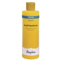 Rayher Stoff-Malfarbe 236ml goldgelb