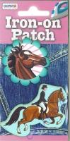 Aufbügel-Motiv No. 4 Pferde