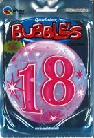 Bubbleballon 18 pink