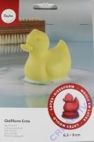 Latex Vollform-Gießform Ente