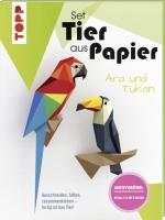 Topp 19920 - Tier aus Papier - Tukan & Ara (Bastel-Set)