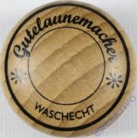 Stempel Gutelaunemacher - waschecht, 3cm ø