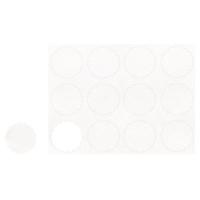 Blanko-Sticker weiß