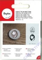 Label ab ins Nest + Tulpe