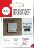 Label Psst... + Spring + oh happy day