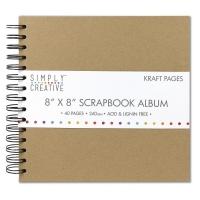 8 x 8 Scrapbook Album