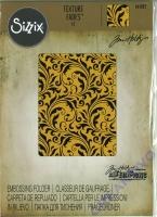 Sizzix Texture Fades Embossing Folder by Tim Holtz - Flourish