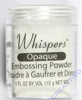 Whispers Embossing Puder seafoam white 15g