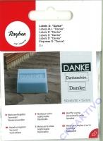 Seifen-Labels Danke