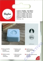 Seifen-Labels Buddha, feel Glück