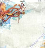 Bo Bunny Scrapbooking-Papier Life in color - Adventures