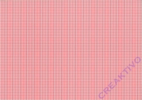 Karo-Fotokarton Mini 300g/qm 49,5x68cm rot/weiß