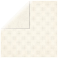 Scrapbookingpapier Double Dot vanille