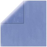 Scrapbookingpapier Double Dot blauviolett
