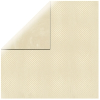 Scrapbookingpapier Double Dot elfenbein