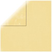 Scrapbookingpapier Double Dot banane