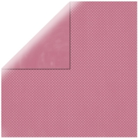 Scrapbookingpapier Double Dot antikrosé