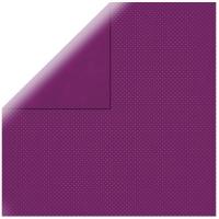 Scrapbookingpapier Double Dot rotlila