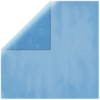 Scrapbookingpapier Double Dot himmelblau