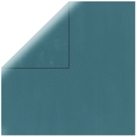 Scrapbookingpapier Double Dot jeansblau