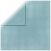 Scrapbookingpapier Double Dot meergrün