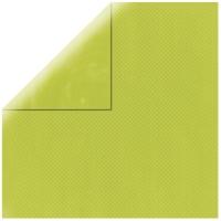Scrapbookingpapier Double Dot maigrün