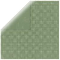 Scrapbookingpapier Double Dot farn