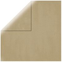 Scrapbookingpapier Double Dot taupe-brown