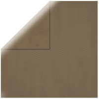 Scrapbookingpapier Double Dot dunkelbraun