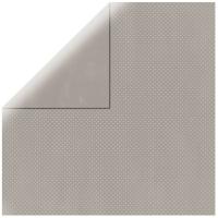 Scrapbookingpapier Double Dot hellgrau