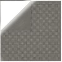 Scrapbookingpapier Double Dot dunkelgrau