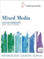 Hahnemühle Universalblock Mixed Media 24x32cm
