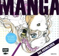 Pop Manga - Das Ausmalbuch
