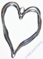 Metallteil Herz 7,5 x 9,5cm