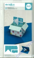 Pop-up gift box cutting dies