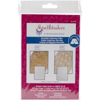 Spellbinders M-Bossabilities 5X7 Card Embossing Folder Hearts